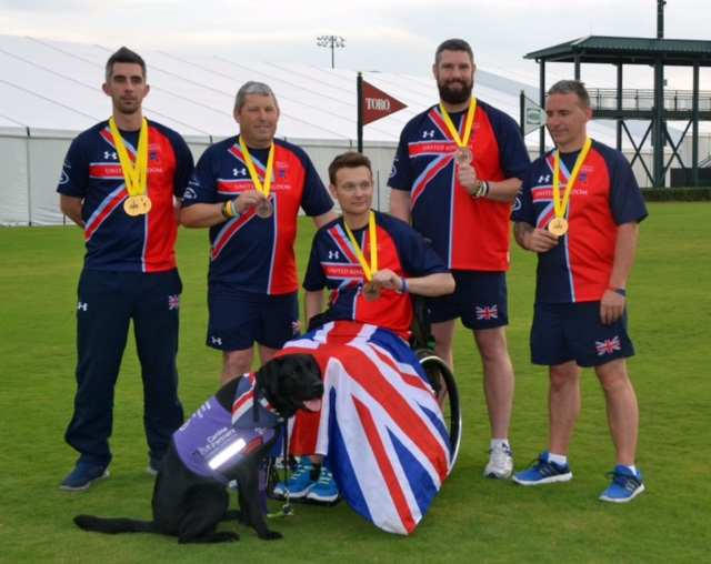 Congratulations to the Hampshire archers who competed at the Invictus Games in Orlando